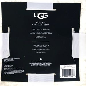 UGG Bedding - UGG Olympia Chenille Knit Throw Blanket